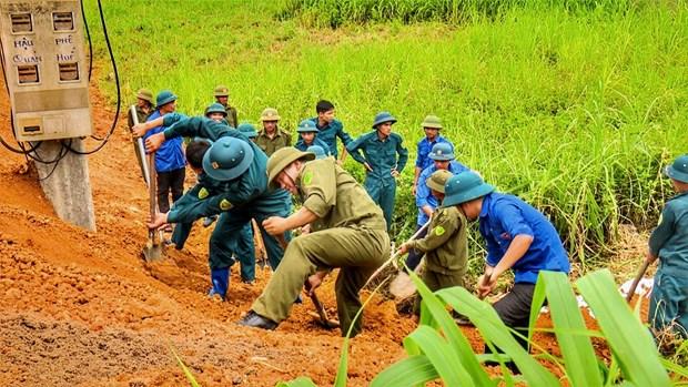 越南颁发防灾救灾行动计划 hinh anh 1