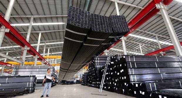 越南钢材遭受贸易保护主义的压力 hinh anh 1