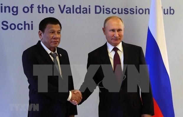 菲律宾优先促进与俄罗斯的贸易投资合作 hinh anh 1