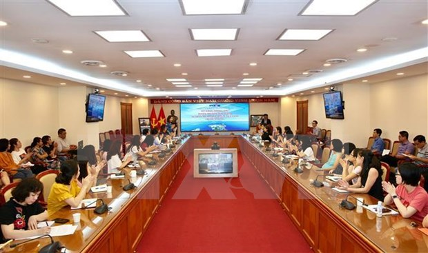 越通社就越南在东海的权益的对外通讯报道工作举行座谈会 hinh anh 1