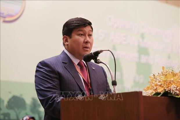第15届东盟环境部长级会议开幕 hinh anh 2