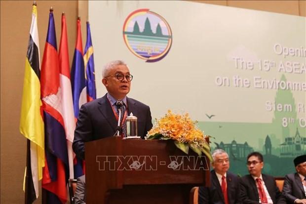 第15届东盟环境部长级会议开幕 hinh anh 3