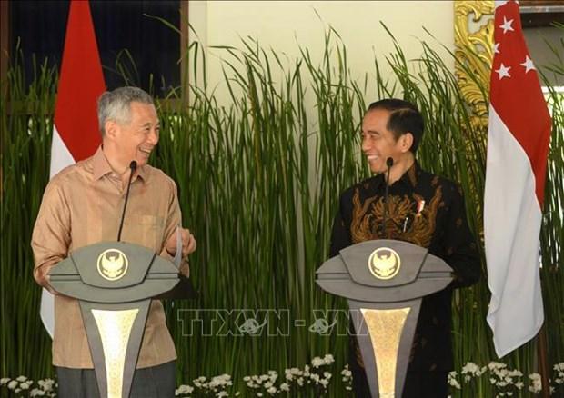 印尼总统即将访问新加坡 hinh anh 1