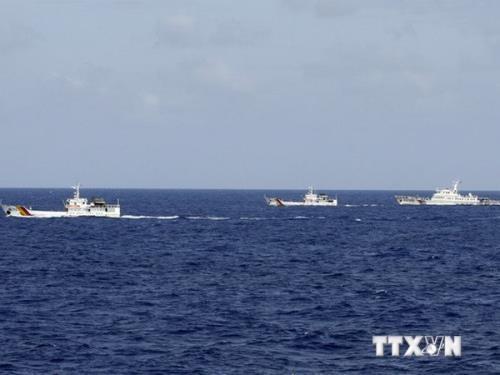 国际航海专家对中国在东海上采取的单方面行动发出谴责声明 hinh anh 1
