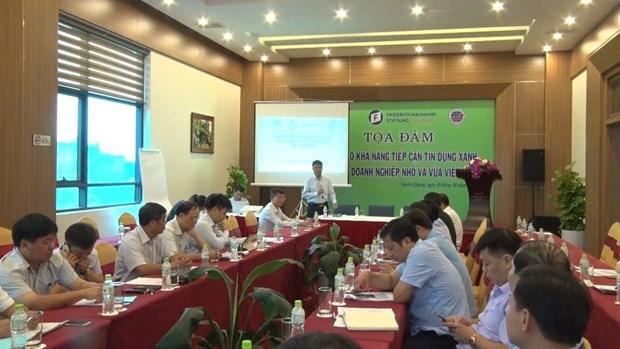 增强中小型企业绿色信贷获取能力 hinh anh 1