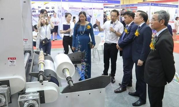 2019年越南工业产品国际展吸引国内外350多家企业参加 hinh anh 1