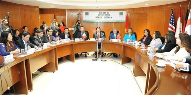 墨西哥众议院成立墨越议员友好小组 hinh anh 1