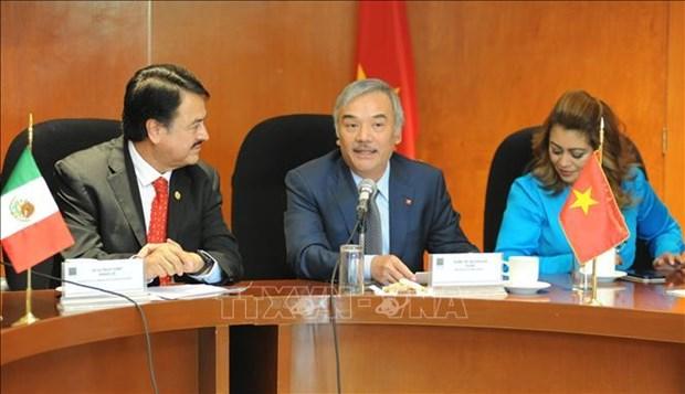 墨西哥众议院成立墨越议员友好小组 hinh anh 3
