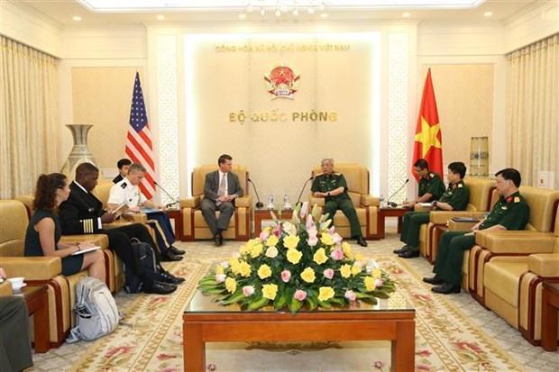 进一步推动越南与美国双边防务合作 hinh anh 1