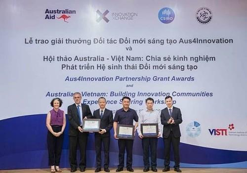 越南—澳大利亚创新伙伴奖颁奖仪式在河内举行 hinh anh 1