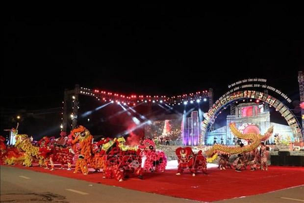 2019年海阳省街头狂欢节将富有东城文化特色 hinh anh 2