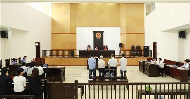 河内市人民检察院再度开庭审理Vinashin滥用职权侵占财产一案 hinh anh 1