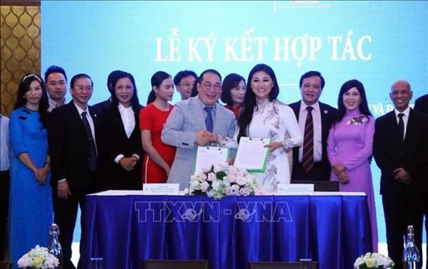 胡志明市企业家积极同海外越南企业家携手合作 共同推进越南的发展 hinh anh 1