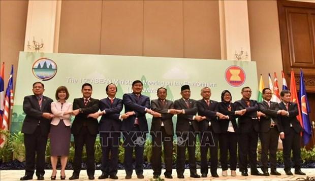 第15届东盟环境部长级会议通过联合声明 hinh anh 1