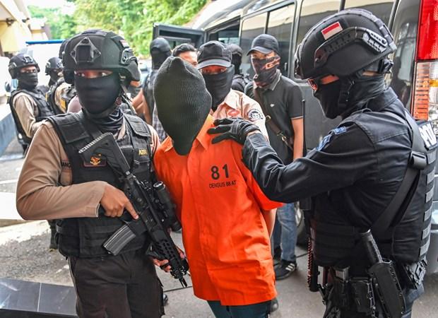 印尼警方挫败一起针对首都雅加达各购物中心的炸弹袭击阴谋 hinh anh 2