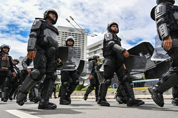 印尼警方挫败一起针对首都雅加达各购物中心的炸弹袭击阴谋 hinh anh 1