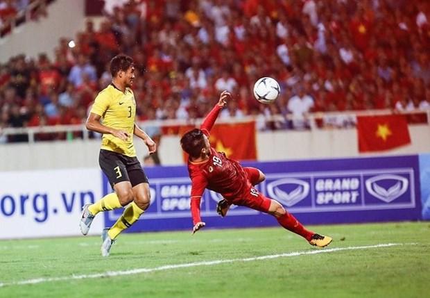 2022年卡塔尔世预赛40强第三轮:越南队主场 1-0 取胜马来西亚队 hinh anh 1
