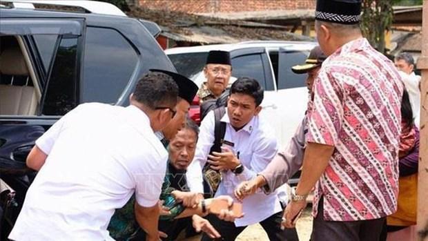 印尼安全部长遇刺受伤 持刀男子与IS有关 hinh anh 1