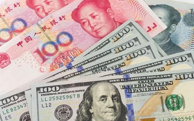 10月11日越盾对美元汇率中间价下调3越盾 hinh anh 1