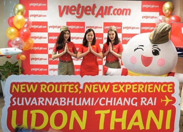 泰国越捷航空推出特价机票 庆祝从曼谷至清莱和乌隆府的新航线开通 hinh anh 1