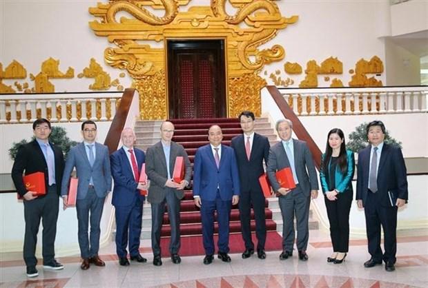 阮春福总理:越南鼓励外国投资商对能源开发领域进行投资 hinh anh 1