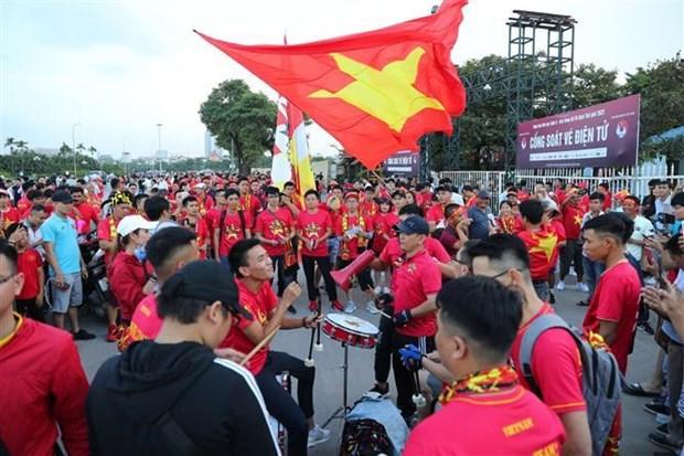 2022年卡塔尔世预赛40强第三轮:亚洲媒体盛赞越南国家足球队的胜利 hinh anh 1