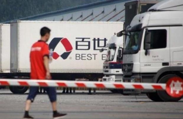中国百世集团今日在越南胡志明市正式启动快递业务 hinh anh 1