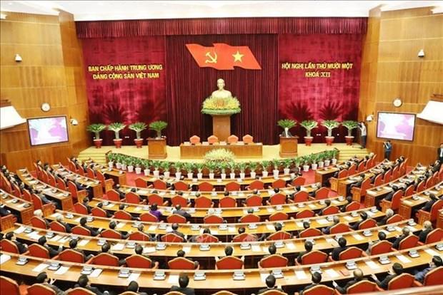越共十二届中央委员会第十一次全体会议公报(第六号) hinh anh 1