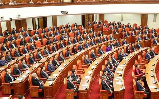 越南共产党第十二届中央委员会第十一次全体会议公报 hinh anh 1