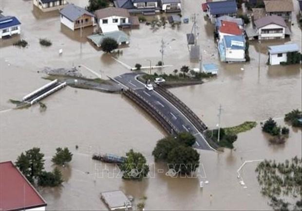 """越南领导人就日本遭受台风""""海贝思""""袭击向日本领导人致慰问电 hinh anh 1"""