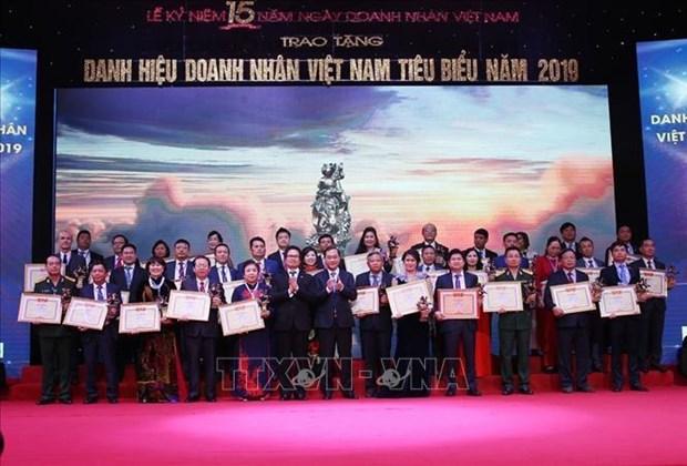 越南政府总理阮春福:政府将当好企业发展的坚强后盾 hinh anh 2