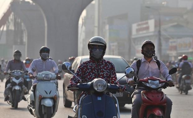 河内学习借鉴法国首都巴黎空气质量管理经验 hinh anh 2
