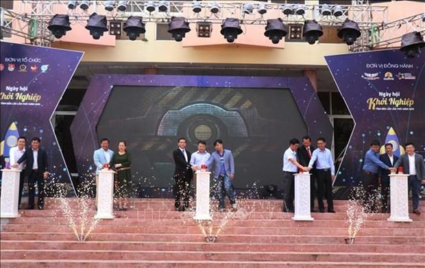 2019年第一次得乐省企业日开幕 hinh anh 1