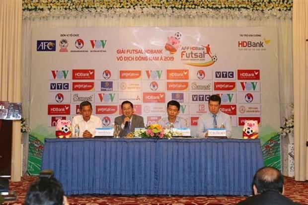 2019年HDBank杯东南亚室内五人制足球锦标赛即将举行 hinh anh 1