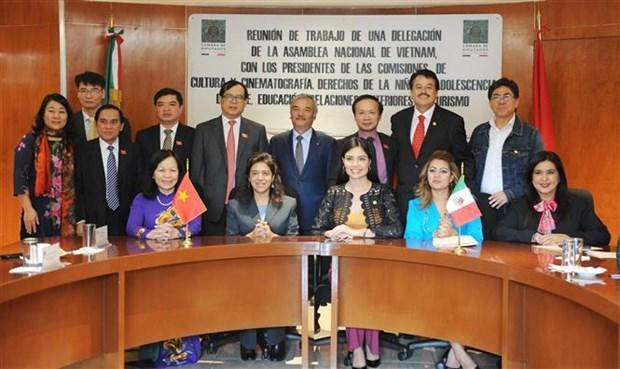 越墨两国国会共同分享文化教育经验 hinh anh 1