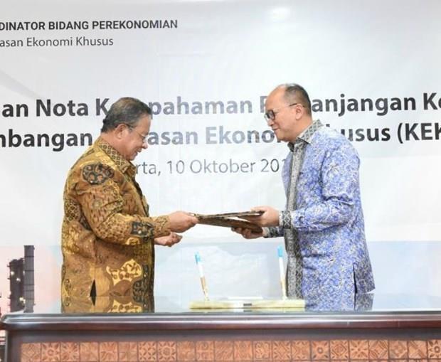 印度尼西亚17个经济特区建设项目将于2019年底完工 hinh anh 1