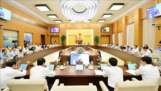 越南第十四届国会常务委员会召开第38次会议 hinh anh 2