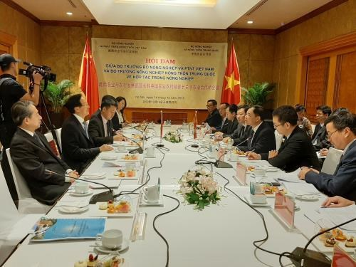 越南与中国促进农产品加工和贸易合作 hinh anh 1