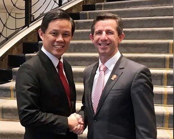 新加坡与澳大利亚启动数字经济协定 hinh anh 1