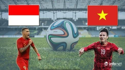 2022年卡塔尔世界杯亚洲区预选赛第二轮比赛:越南国足今晚客场对阵印尼队 hinh anh 1