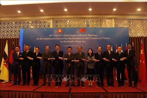 落实DOC的第18次东盟—中国高官会在林同省举行 hinh anh 1