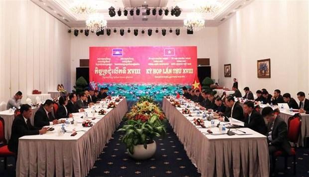 越南与柬埔寨政府专责委员会第十八次会议召开 hinh anh 2