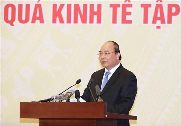 越南政府总理阮春福:集体经济发展要从人民的需求出发 hinh anh 1
