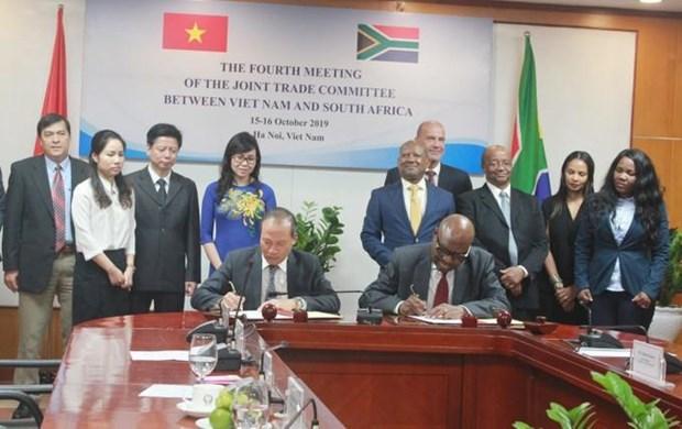 越南与南非促进经贸合作 hinh anh 1