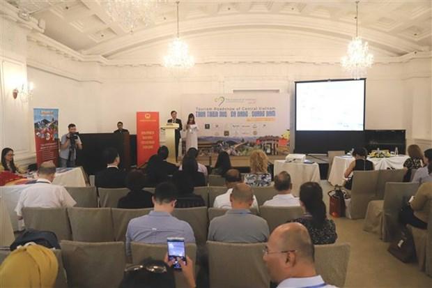 越南中部三省市在新加坡举行旅游推介会 hinh anh 1