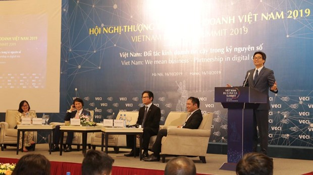 越南力争在数字时代中实施经营商机最优化 hinh anh 1