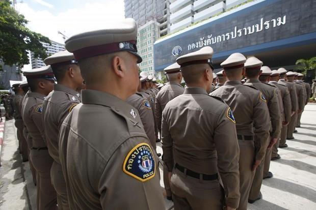 泰国警方将部署万名警察保障第35届东盟峰会安全 hinh anh 1