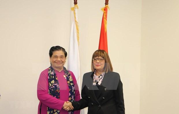 越南国会进一步增进与塞尔维亚国民议会和澳大利亚联邦议会的合作 hinh anh 1