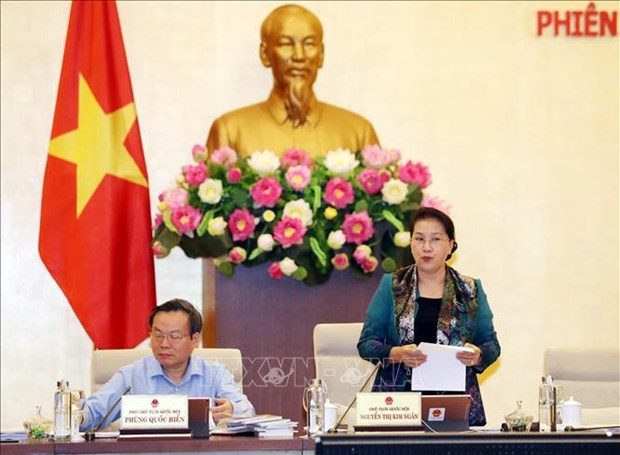 越南国会常委会第38次会议落幕 hinh anh 1