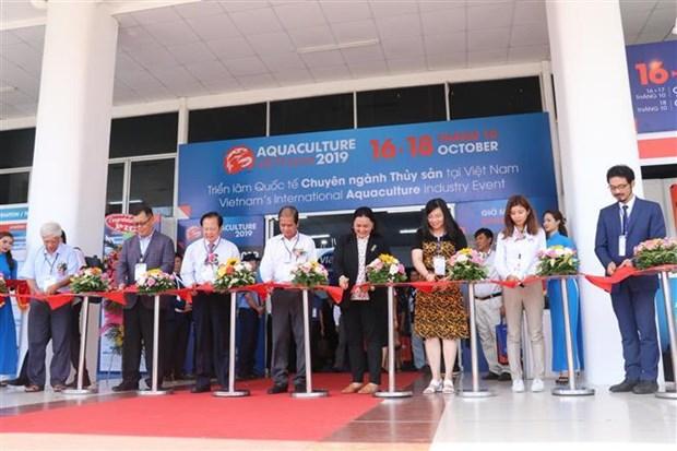 2019年越南渔业展览会在芹苴市开展 hinh anh 1